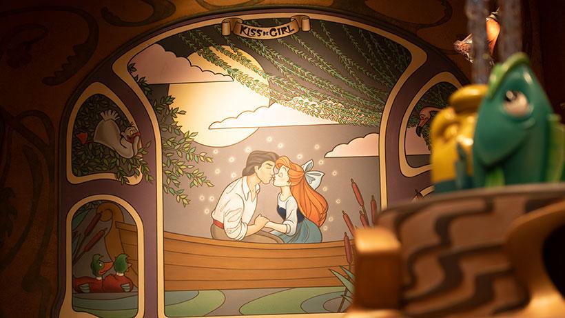 アリエルとエリック王子の画像