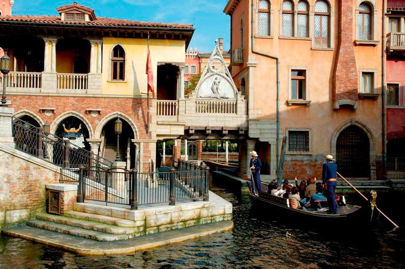 「ヴェネツィアン・ゴンドラ」の乗り場の西側の画像