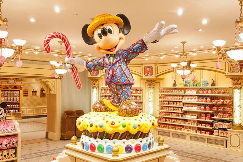 ワールドバザール・コンフェクショナリーの店内の画像
