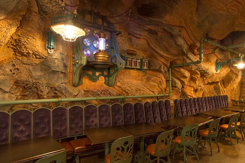 ヴォルケイニア・レストランの店内の画像