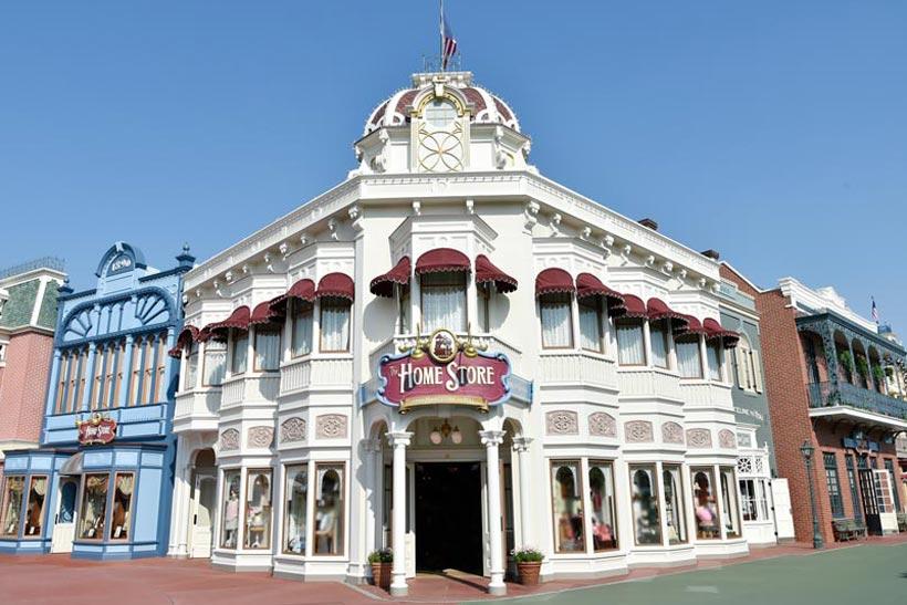 東京ディズニーランドのショップ「ホームストア」の画像