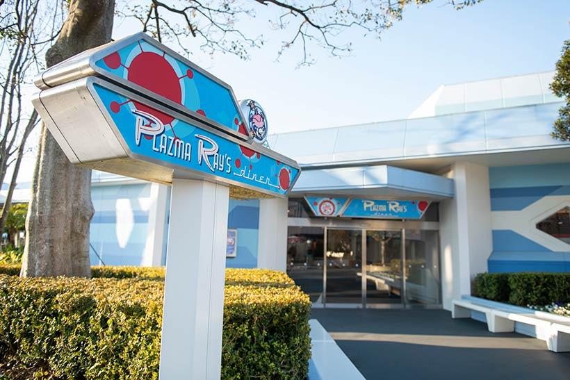 東京ディズニーランドのレストラン「プラズマ・レイズ・ダイナー」の画像