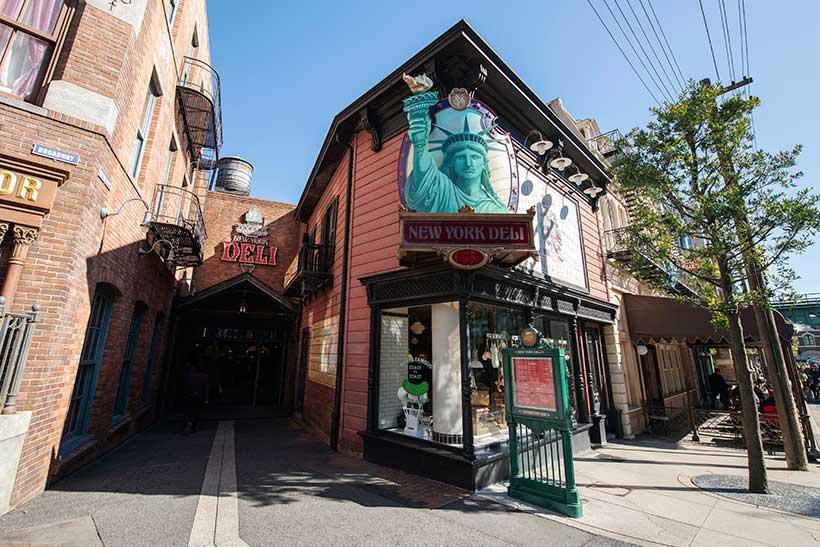 東京ディズニーシーのレストラン「ニューヨーク・デリ」の画像
