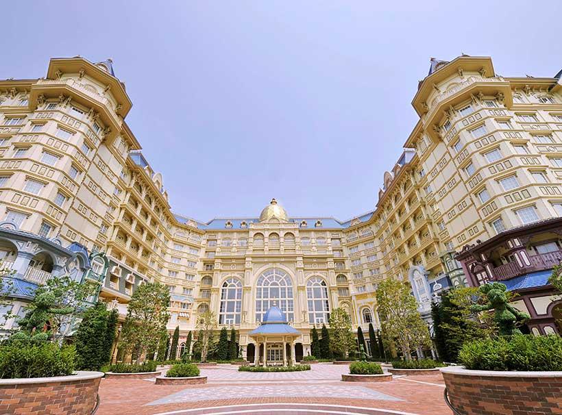 東京ディズニーランドホテル外観画像