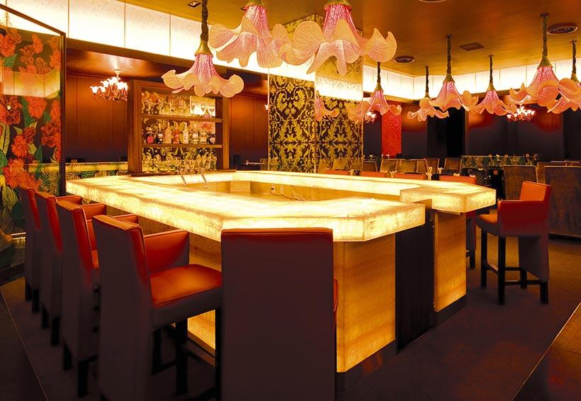 創作料理レストラン「カンナ」店内画像