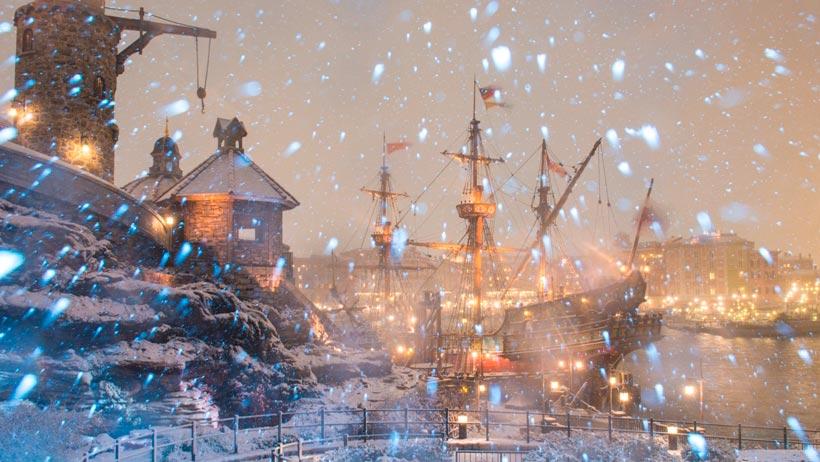 フォートレス・エクスプロレーションの雪景色の画像