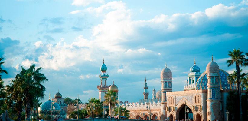 アラビアンコーストの風景画像
