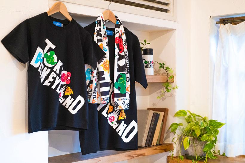 """""""TOKYO DISNEYLAND""""のロゴが大きくデザインされたグッズの画像①"""