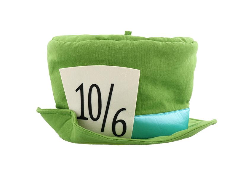 マッドハッターがかぶっている帽子の形をしたグッズの画像