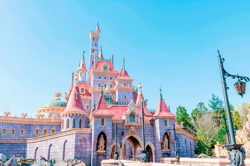 野獣の棲む城の外観の画像