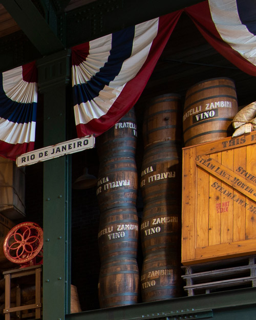 ワイン樽の画像