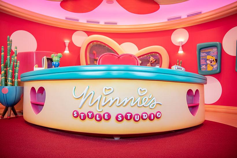 「ミニーのスタイルスタジオ」の内観の画像