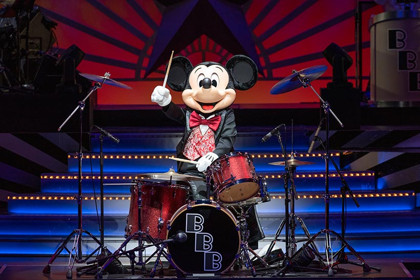 「ブロードウェイ・ミュージックシアター」のミッキーの画像