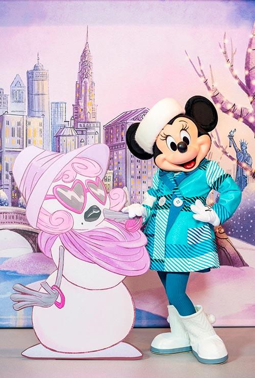 ミニーのスタイルスタジオのミニーマウス