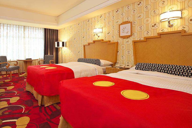 ディズニーホテルの客室画像1