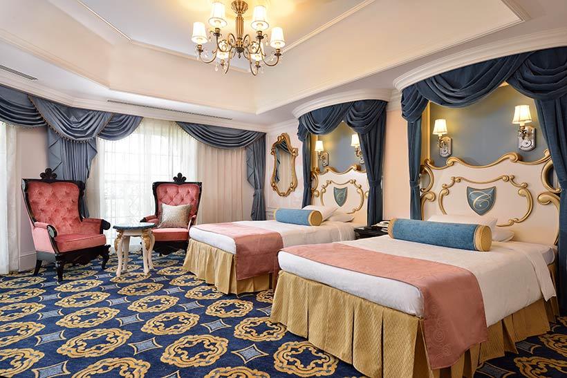 ディズニーホテルの客室画像2