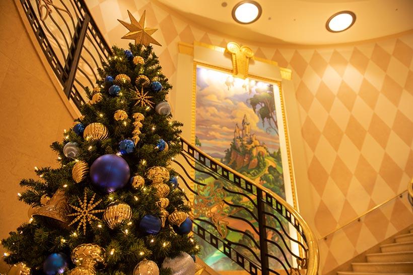 ディズニーアンバサダーホテルのツリー