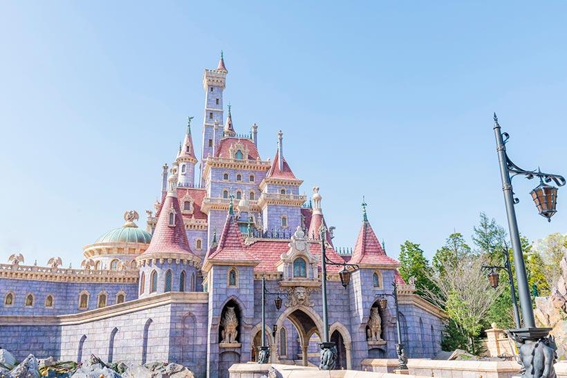 美女と野獣のお城の画像