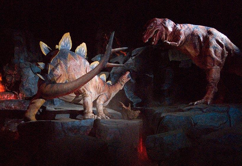 恐竜のシーン