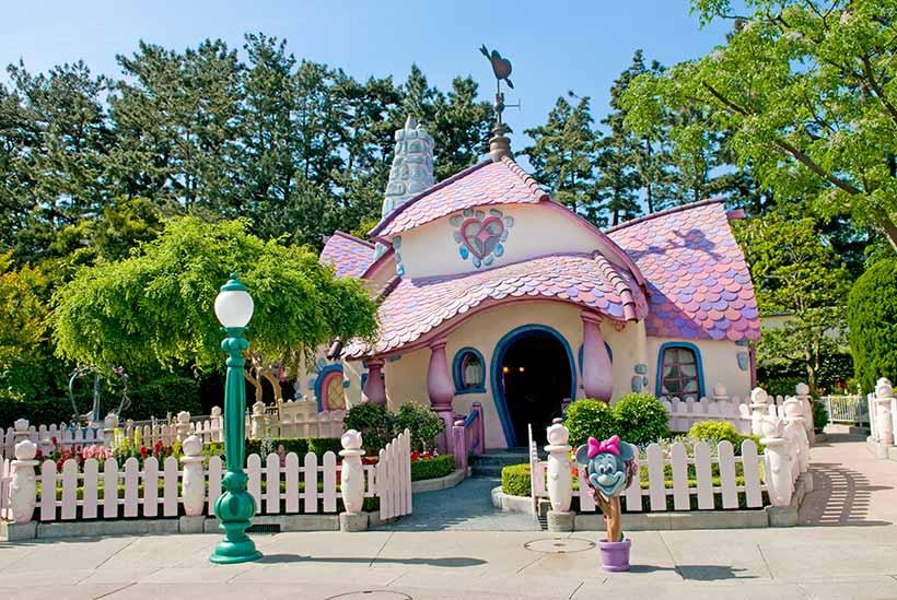ミニーの家の画像