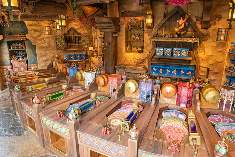 「アブーズ・バザール」の店内の画像