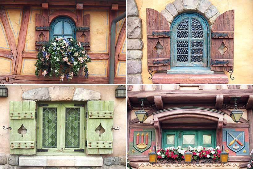 ベルの村の窓の画像
