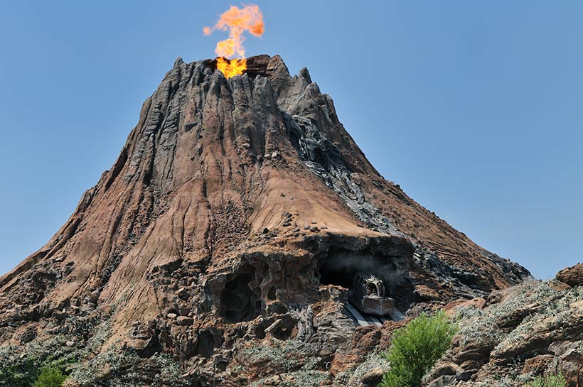 プロメテウス火山の画像