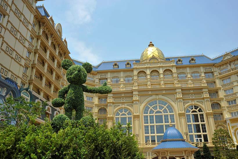 東京ディズニーランドホテルの外観の画像