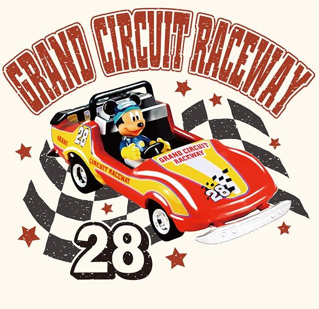 「グランドサーキット・レースウェイ」をモチーフにしたアート