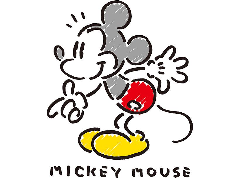 ミッキーのアートの画像