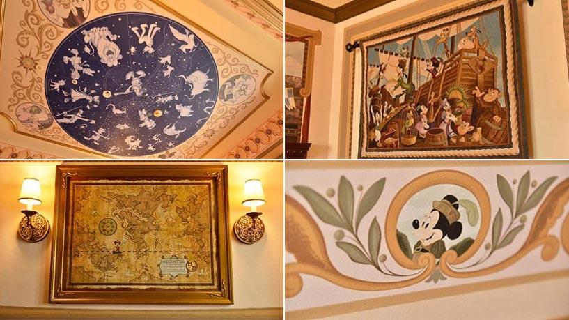 東京ディズニーシー・ホテルミラコスタの客室の内装の画像