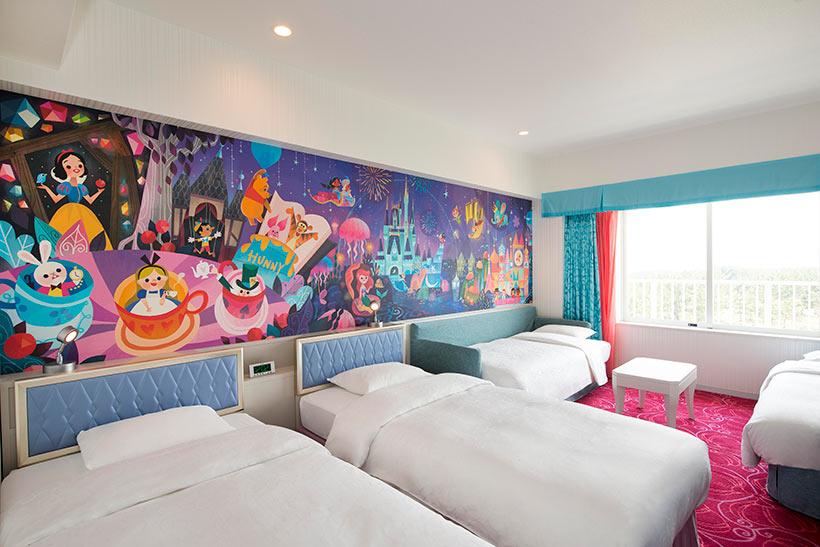 東京ディズニーセレブレーションホテルの客室の画像