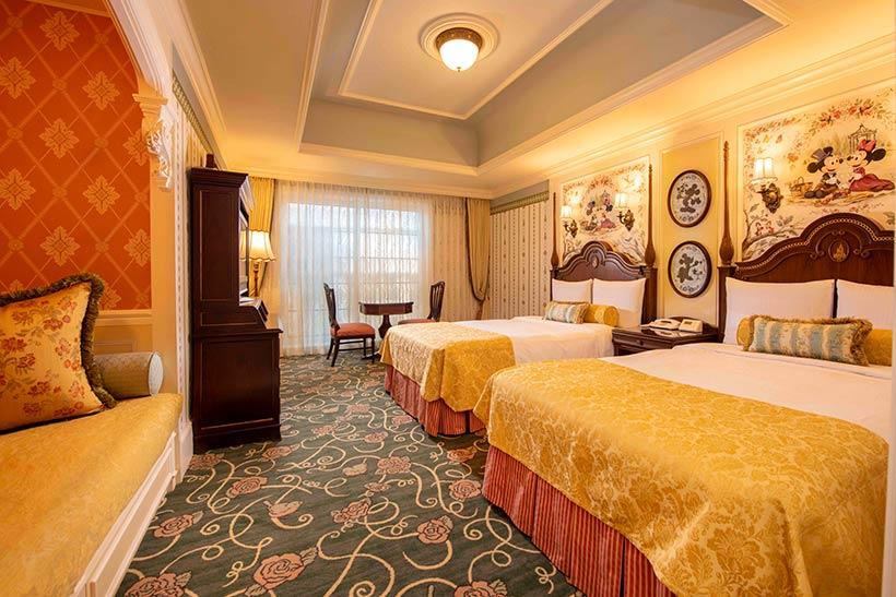 東京ディズニーランドホテルの客室の画像