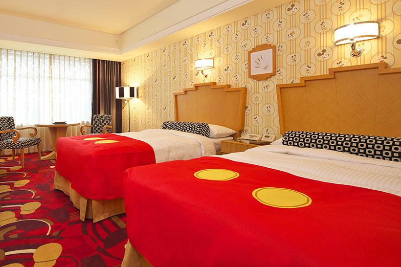 ディズニーアンバサダーホテルの客室の画像