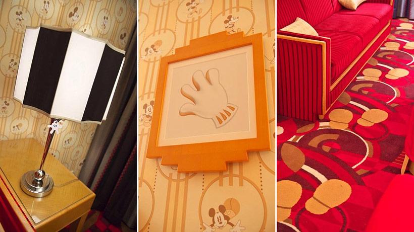 ディズニーアンバサダーホテルの客室の内装の画像