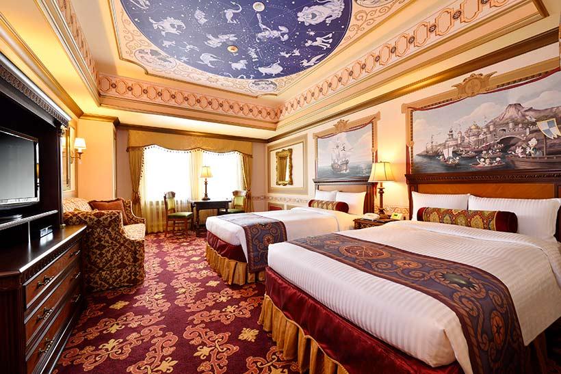 東京ディズニーシー・ホテルミラコスタの客室の画像