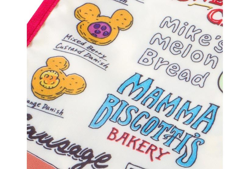 「マンマ・ビスコッティーズ・ベーカリー」のロゴがデザインされた部分の画像