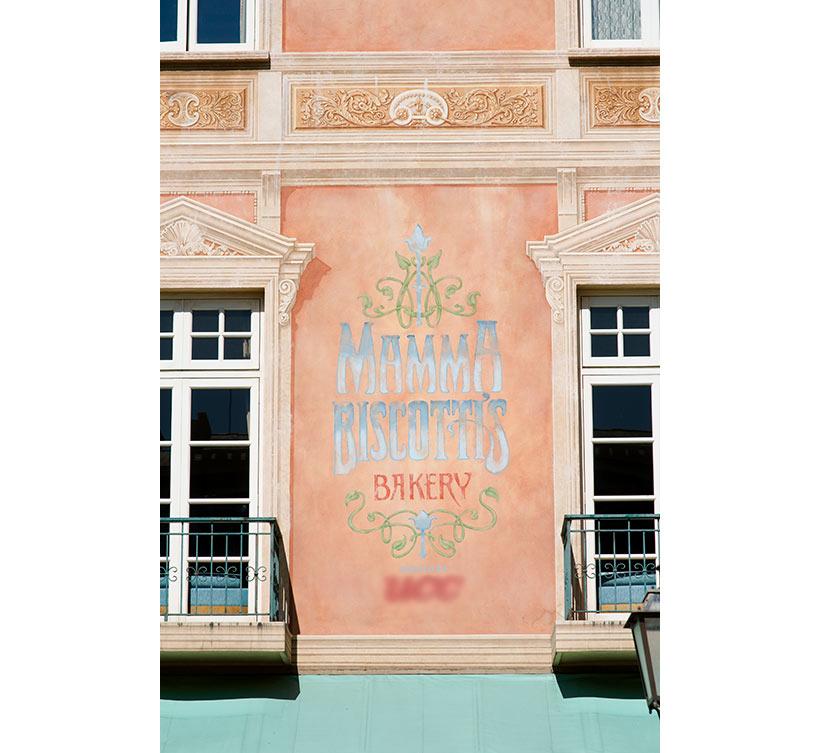 「マンマ・ビスコッティーズ・ベーカリー」の外観の画像