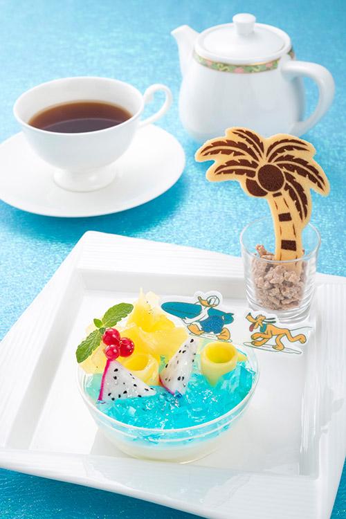 「ハイピリオン・ラウンジ」のケーキセットの画像