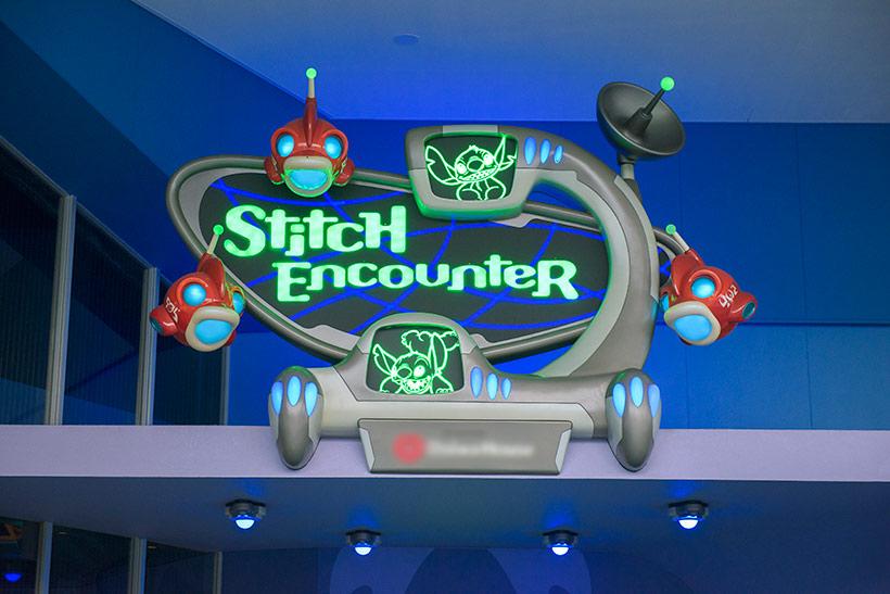 「スティッチ・エンカウンター」の看板画像