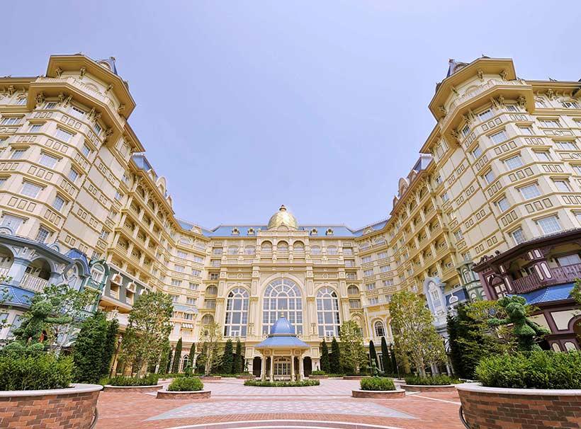 東京ディズニーランドホテルの外観画像