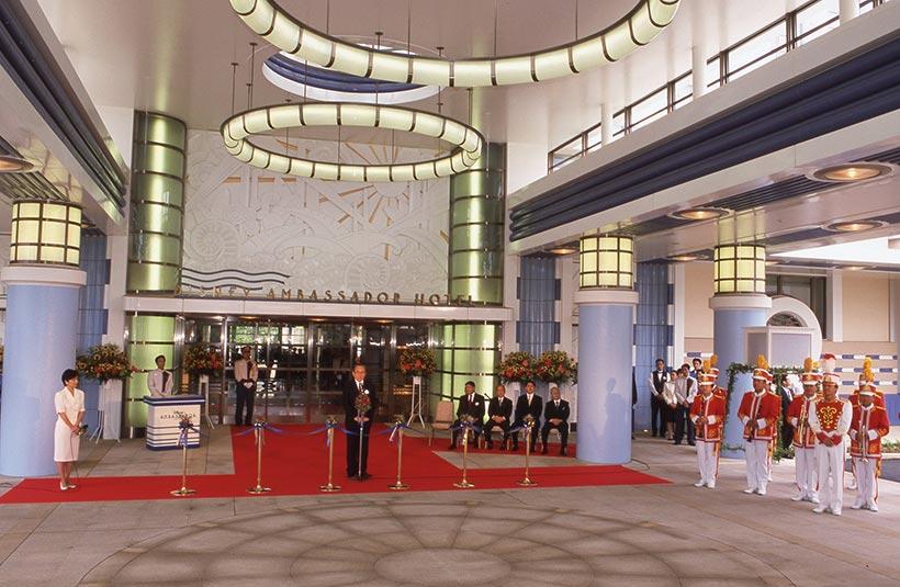 ディズニーアンバサダーホテルのオープン時の様子