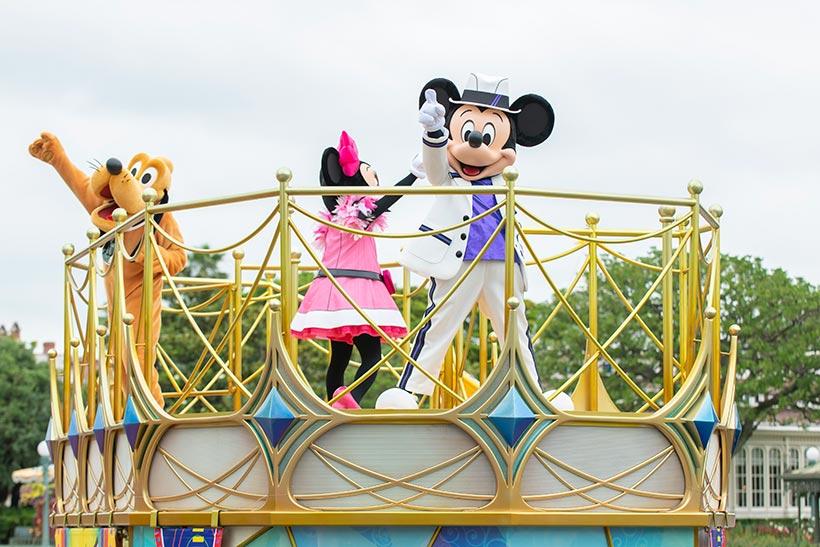 「ミッキー&フレンズのグリーティングパレード:クラブマウスビート」の画像