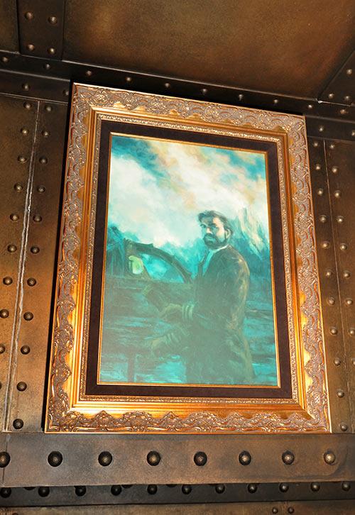 ネモ船長の肖像画