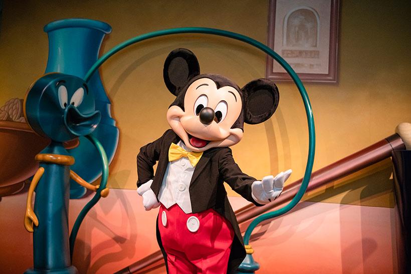 ミッキーマウスの画像
