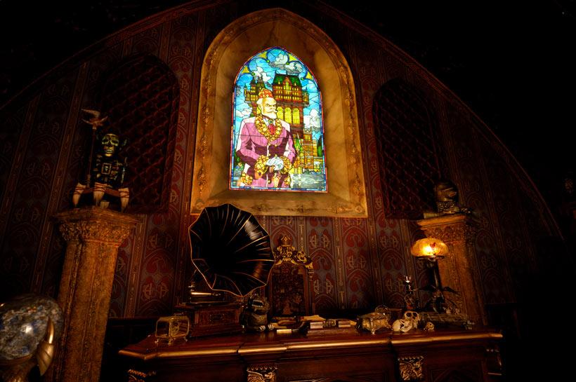 ハイタワー三世のステンドグラス