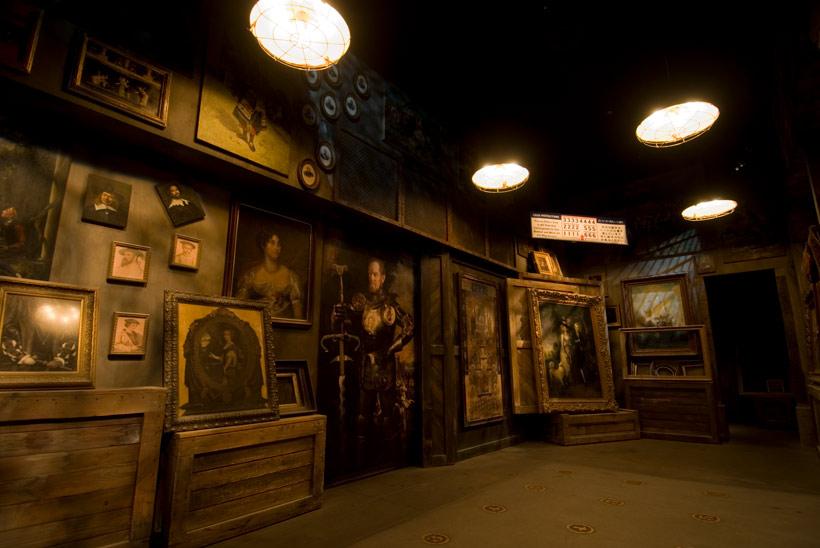 絵画コレクションの部屋の画像