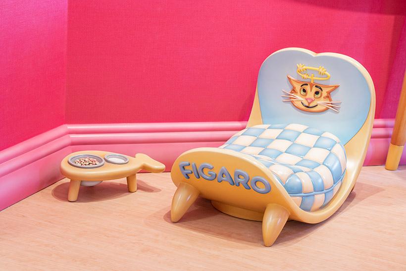 「ミニーのスタイルスタジオ」のフィガロのベッド