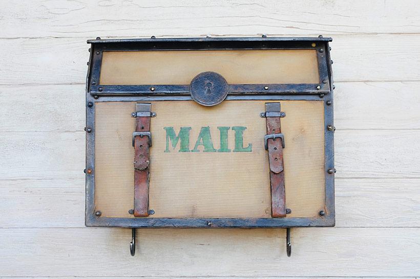 ロストリバーデルタのメールボックス