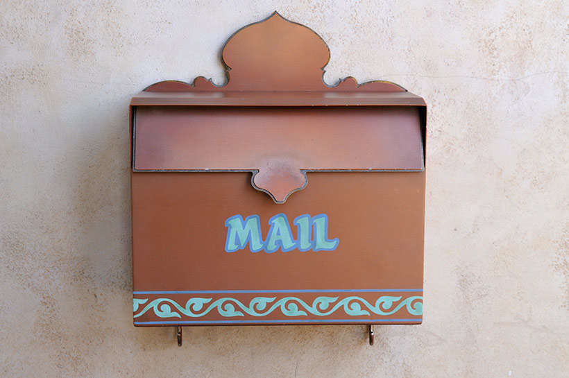 アラビアンコーストのメールボックス